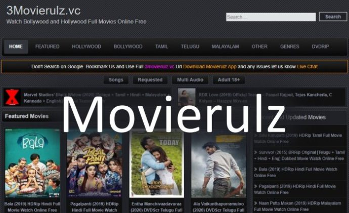Movierulz MS 2020 HD Movies Free Download