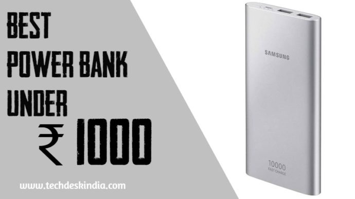 Best Power bank under Rs 1000 in India